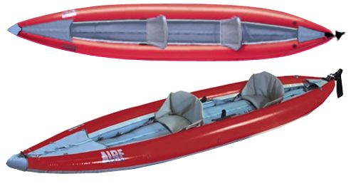 Aire Sea Tiger inflatable kayak