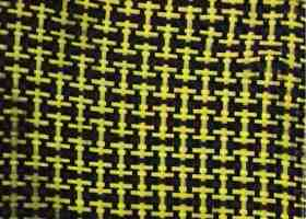 Kevlar-carbon cloth