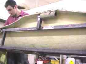 Kayak hull mould