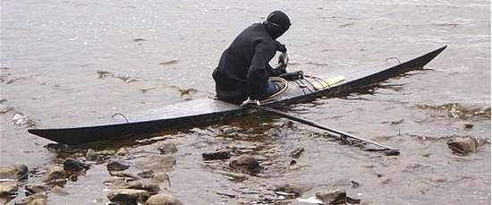 Kayarchy - sea kayak construction methods (5) skin-on-frame