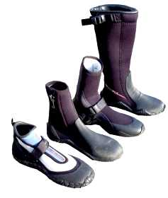 Wetsuit boots