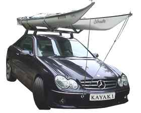 Kayaks On Roof Rack 2
