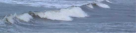 Small spilling wave