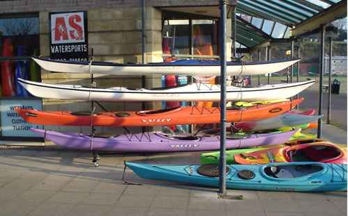 AS Watesports kayak shop